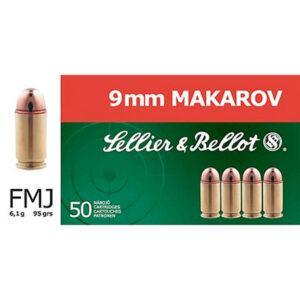 Kal. 9mm Makarov Sellier & Bellot
